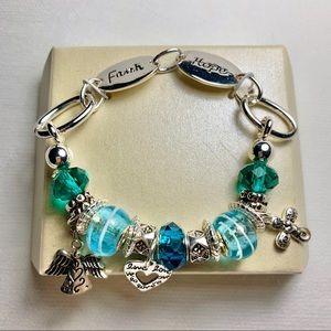 Jewelry - Faith Inspired Charm Bracelet